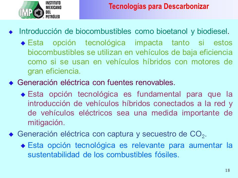 Tecnologías para Descarbonizar