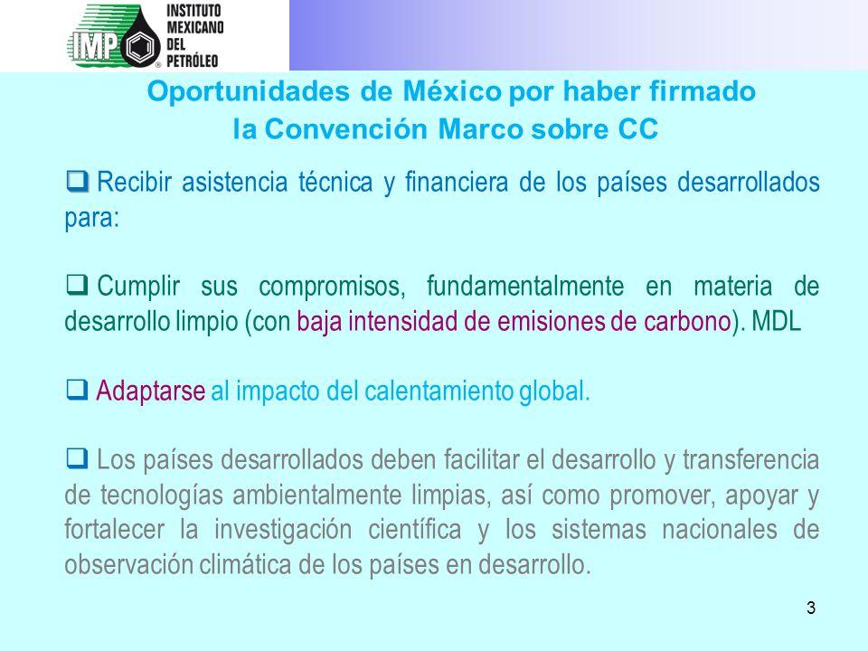 la Convención Marco sobre CC