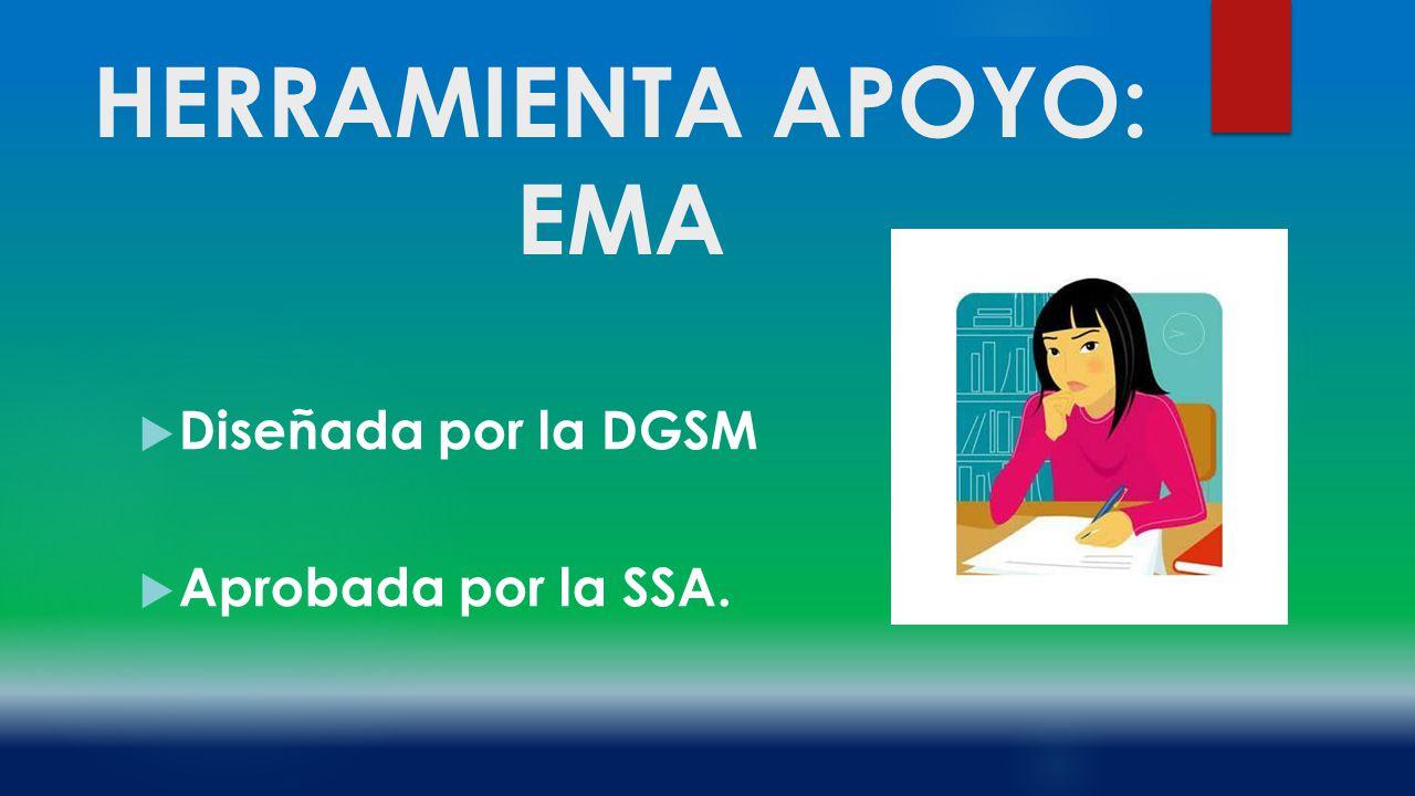 HERRAMIENTA APOYO: EMA