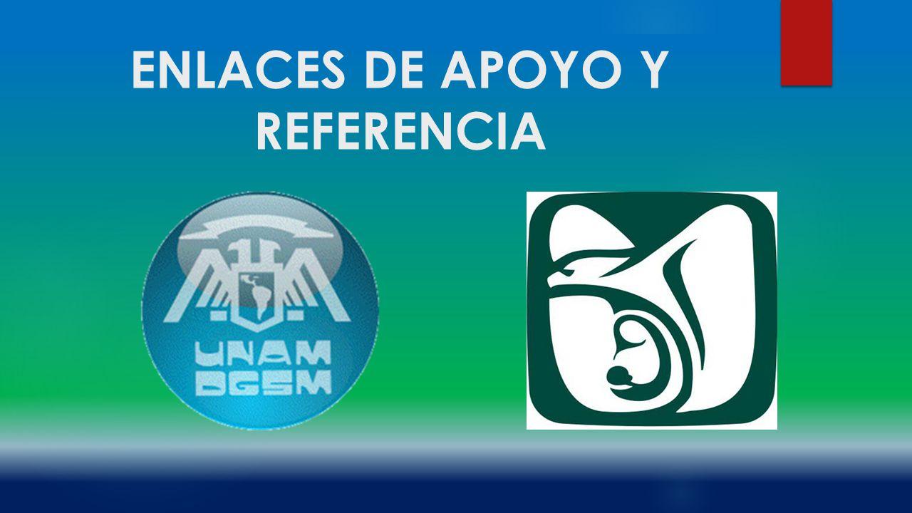 ENLACES DE APOYO Y REFERENCIA