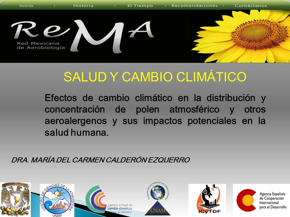 SALUD Y CAMBIO CLIMÁTICO