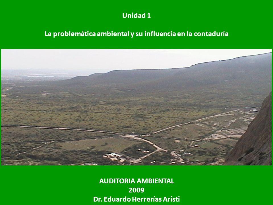 La problemática ambiental y su influencia en la contaduría