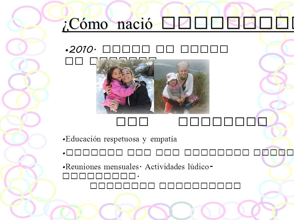 ¿Cómo nació Parlacta Emi Patricia 2010. Surge el Grupo de Crianza.