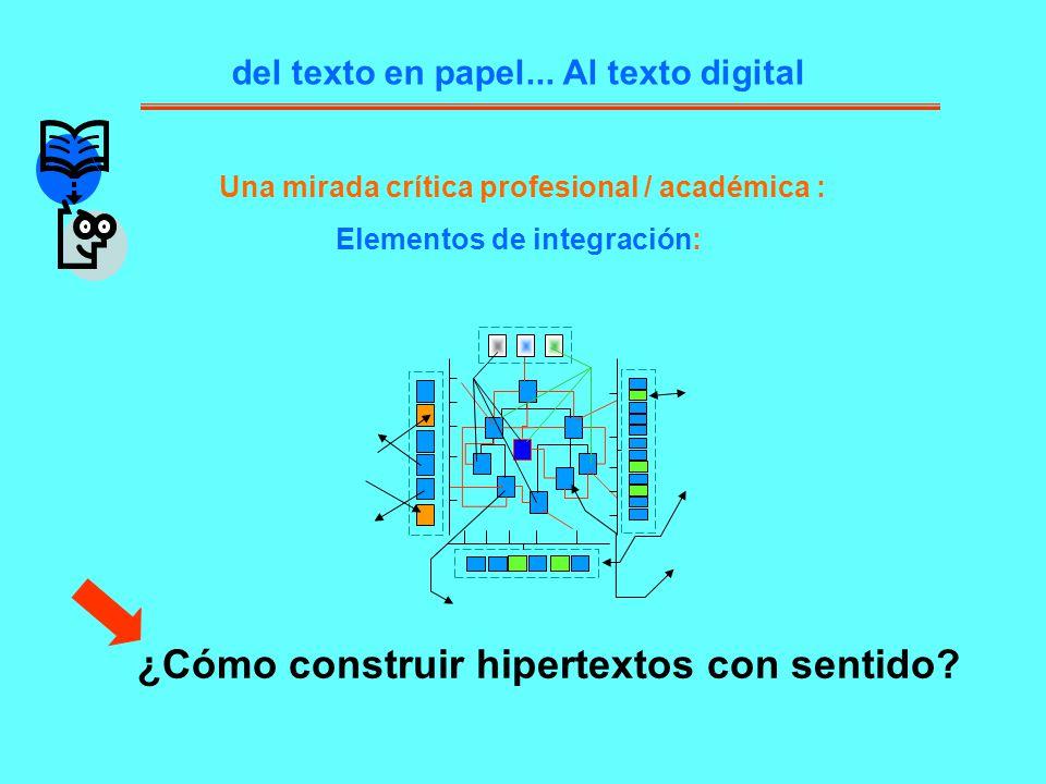¿Cómo construir hipertextos con sentido