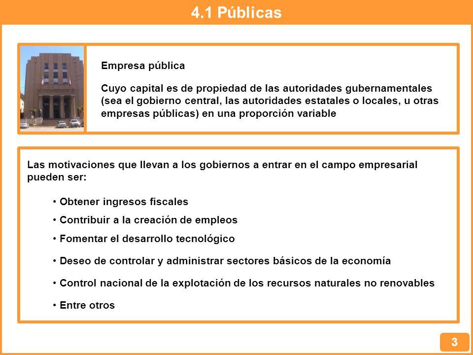 4.1 Públicas 3 Empresa pública