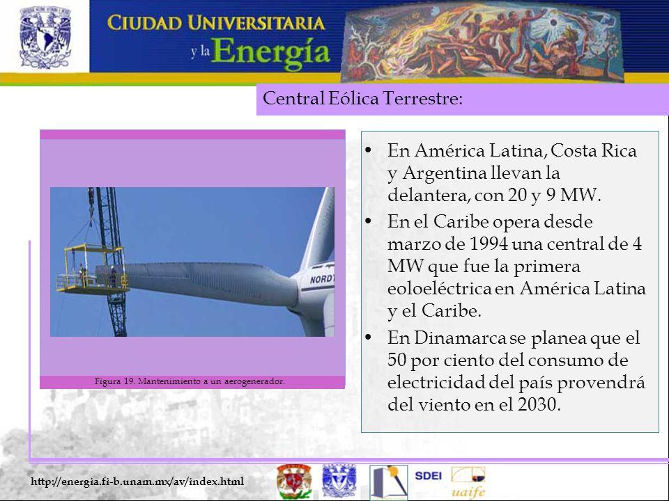 Figura 19. Mantenimiento a un aerogenerador.
