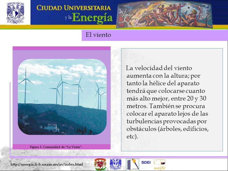 El viento Figura 5. Comunidad de La Venta .