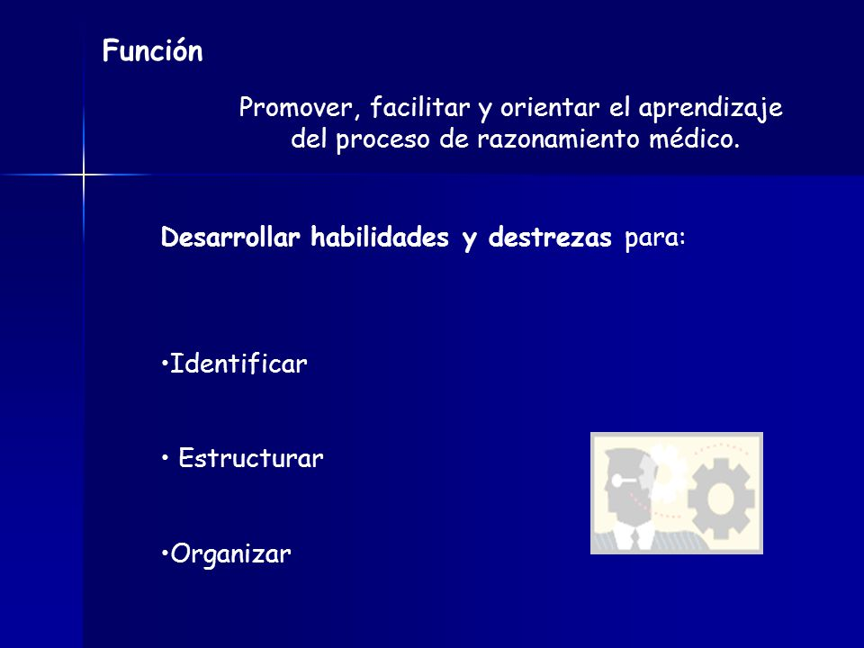 Función Promover, facilitar y orientar el aprendizaje