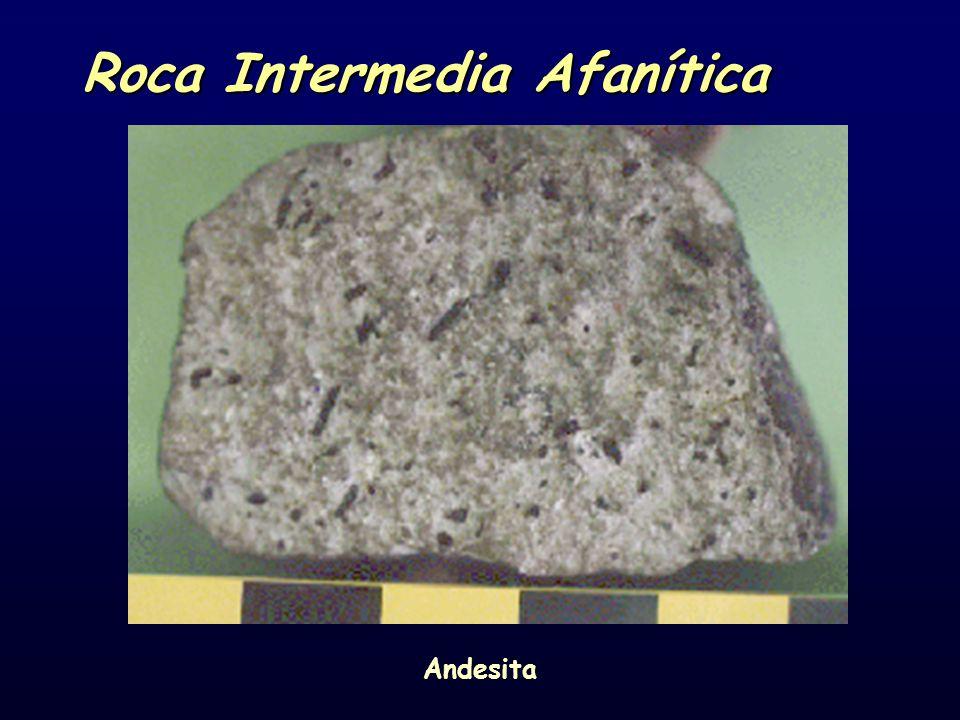 Roca Intermedia Afanítica