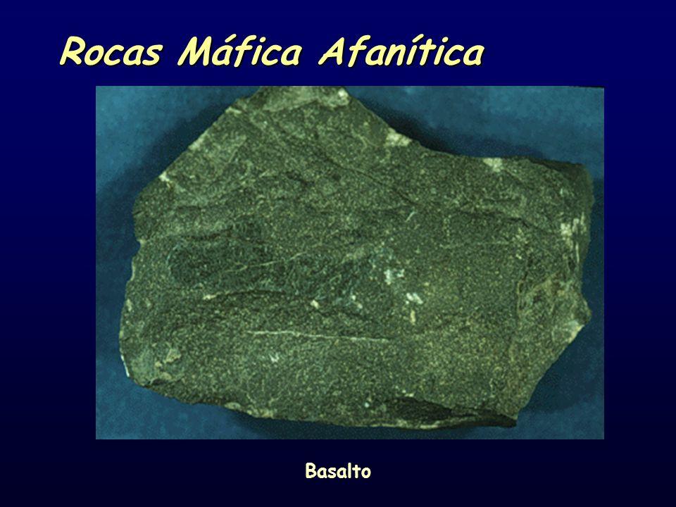 Rocas Máfica Afanítica