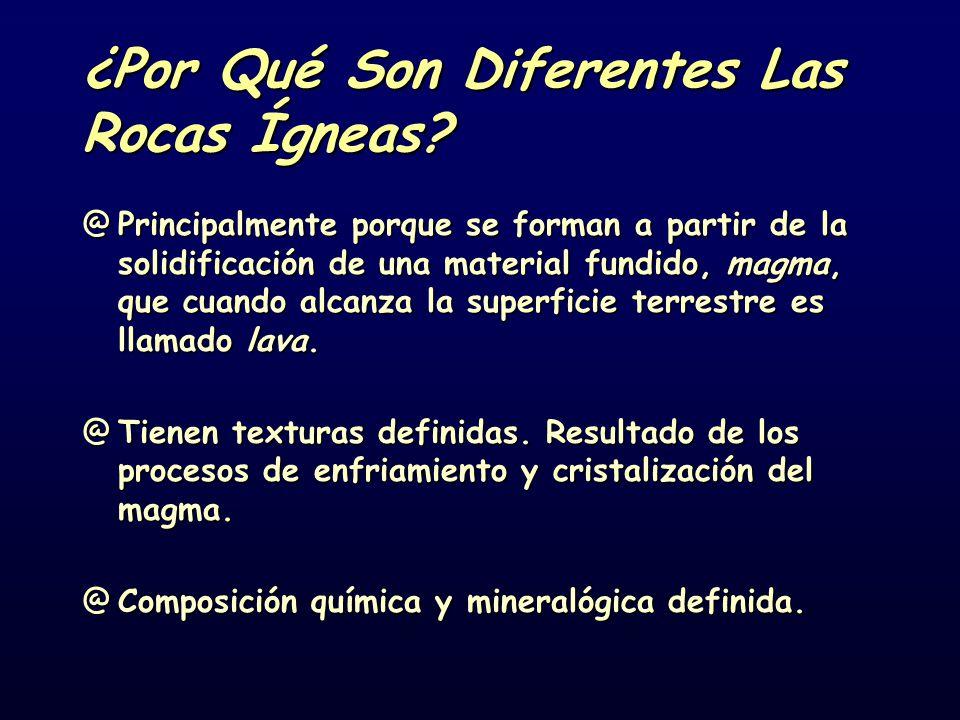 ¿Por Qué Son Diferentes Las Rocas Ígneas