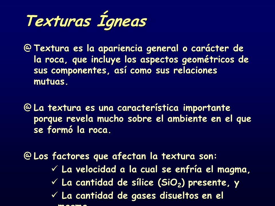 Texturas Ígneas