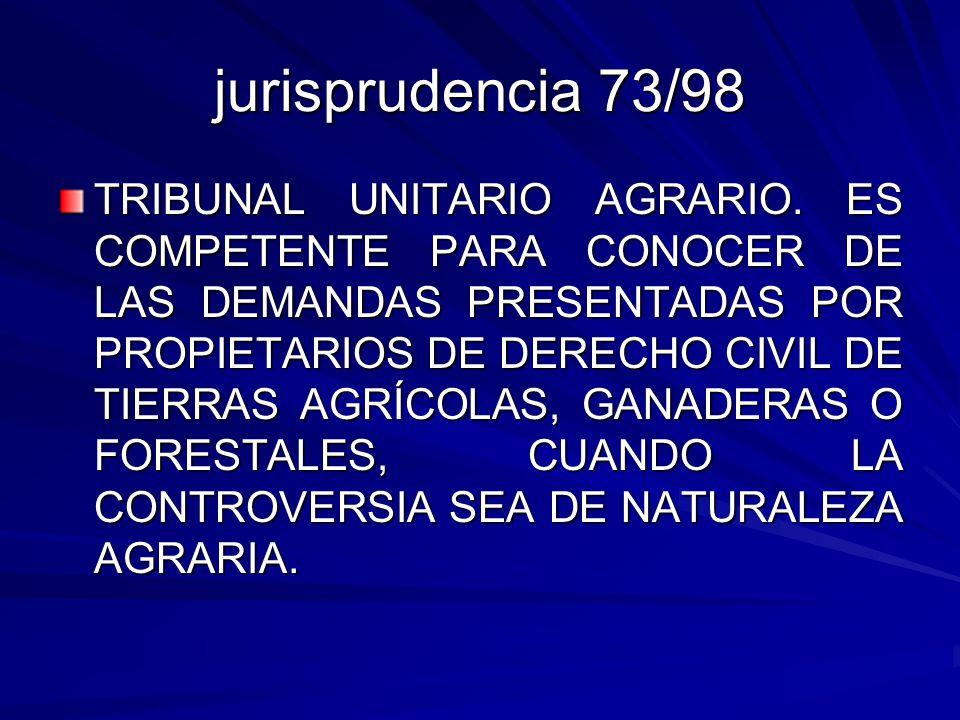 jurisprudencia 73/98
