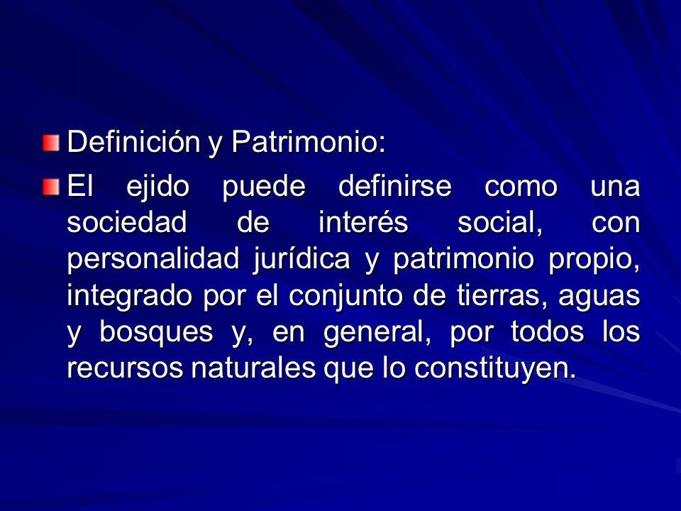 Definición y Patrimonio: