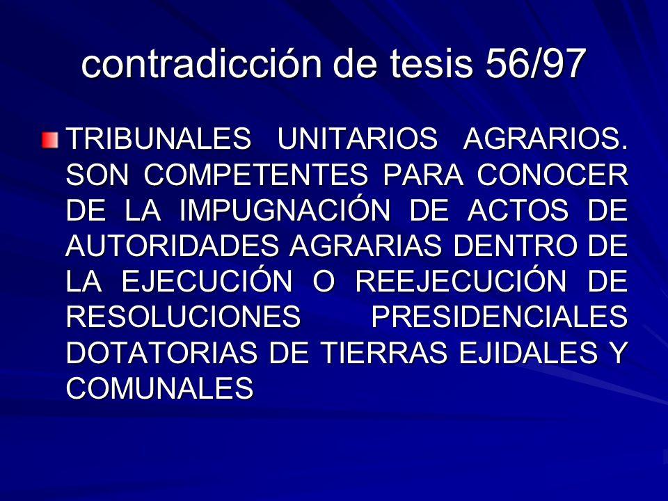contradicción de tesis 56/97
