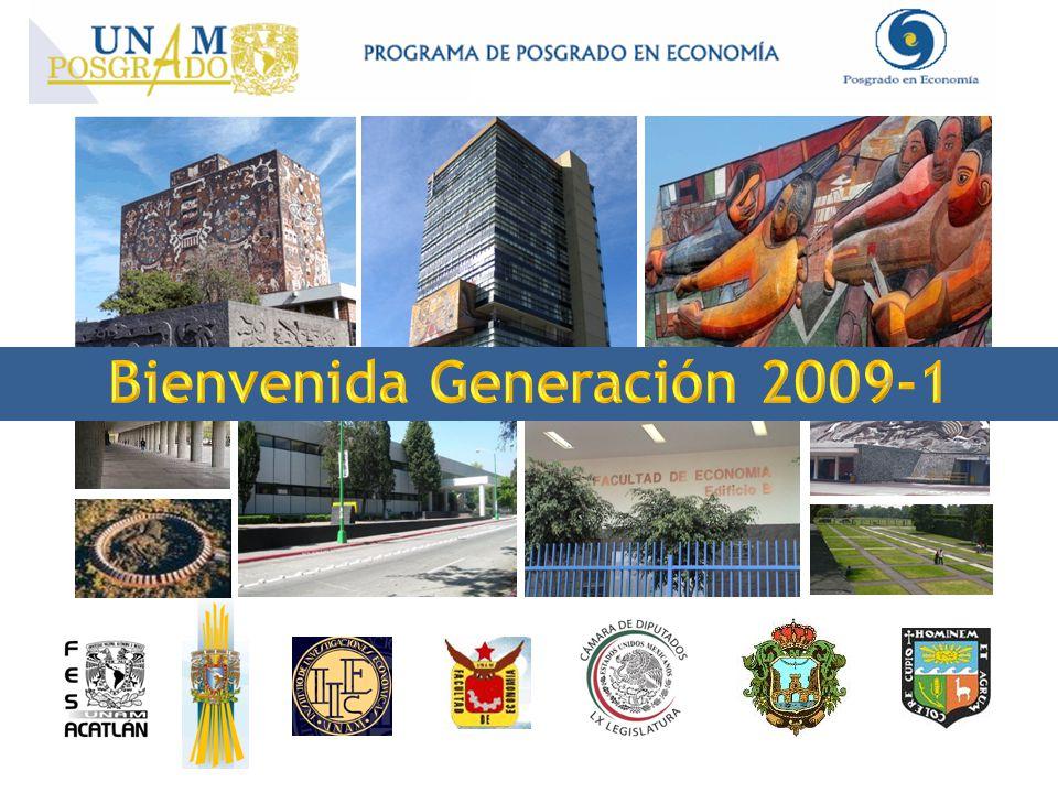 Bienvenida Generación 2009-1