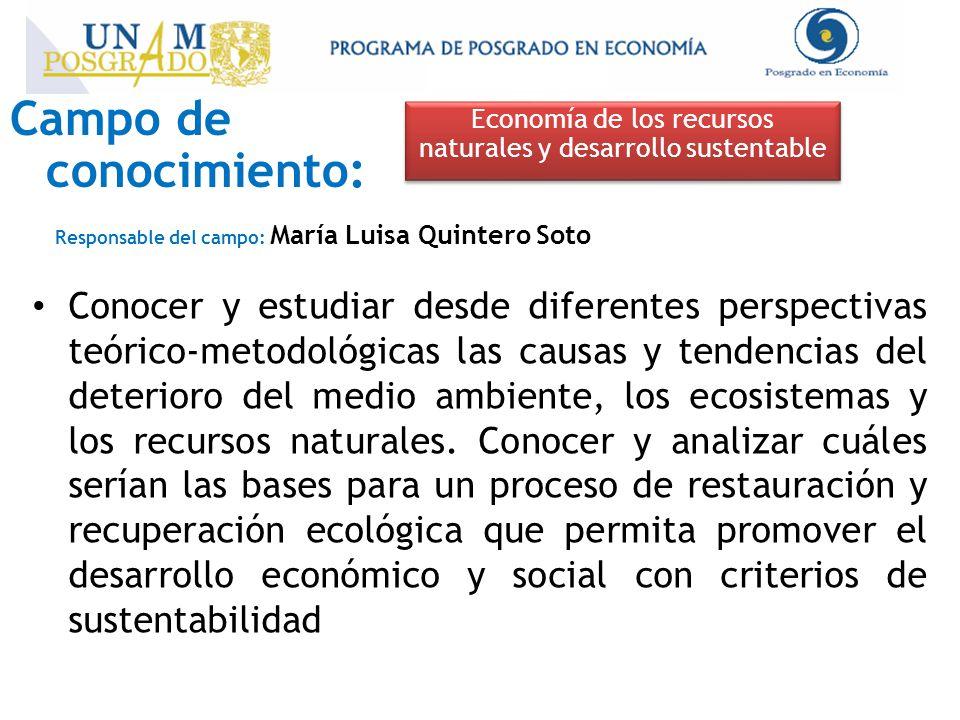 Economía de los recursos naturales y desarrollo sustentable