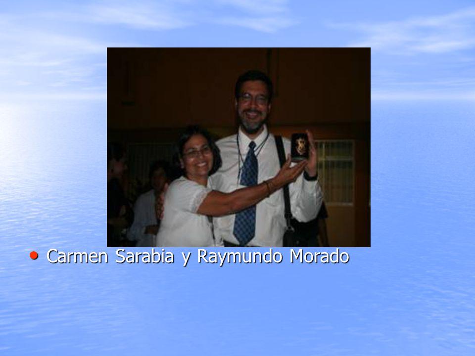 Carmen Sarabia y Raymundo Morado