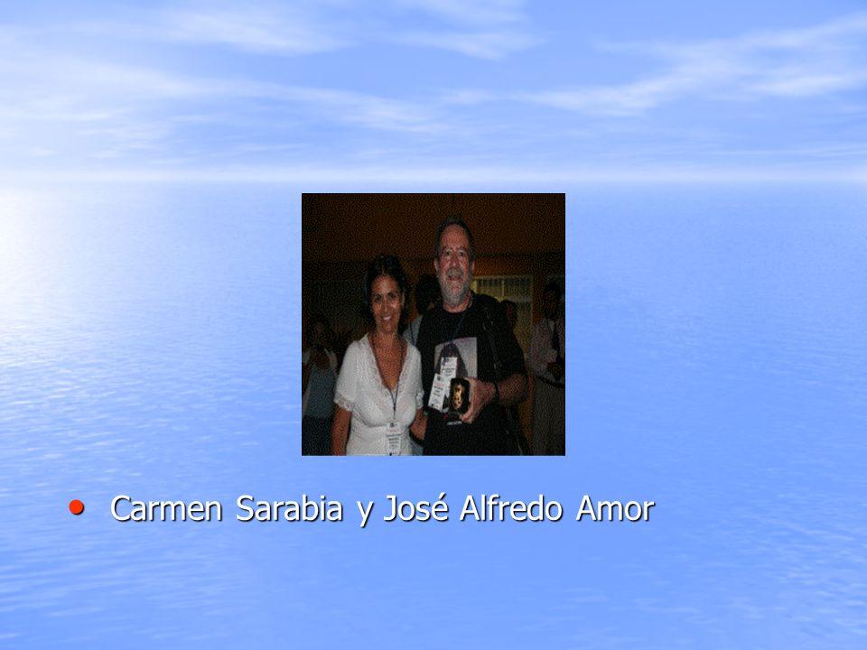 Carmen Sarabia y José Alfredo Amor
