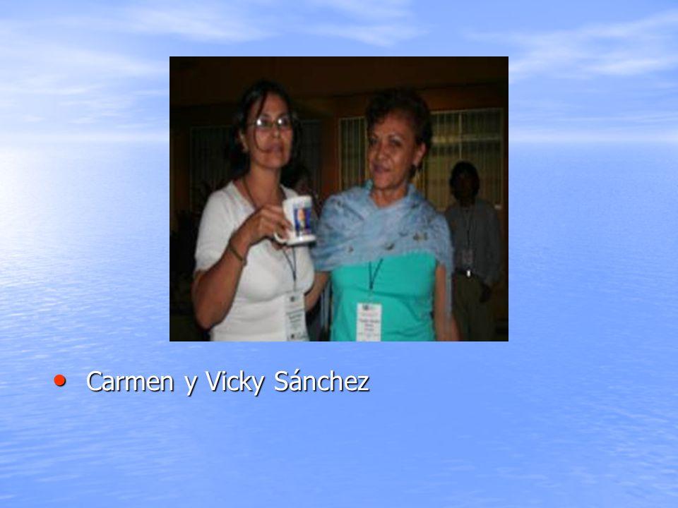 Carmen y Vicky Sánchez