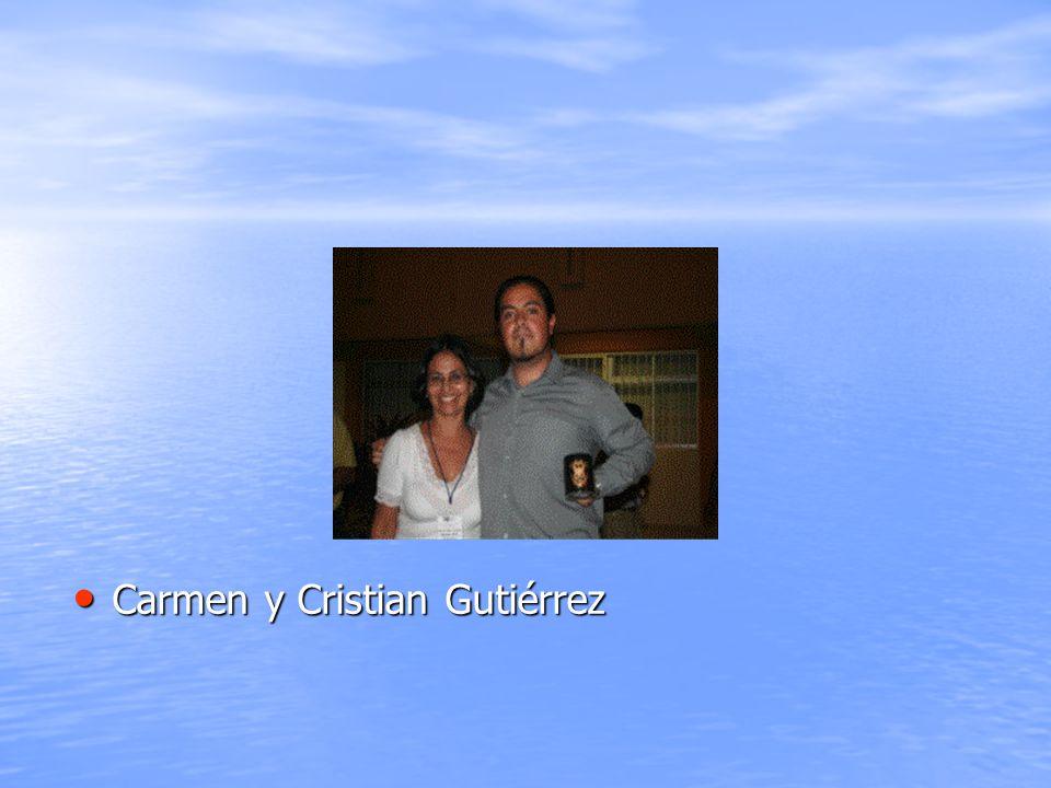 Carmen y Cristian Gutiérrez