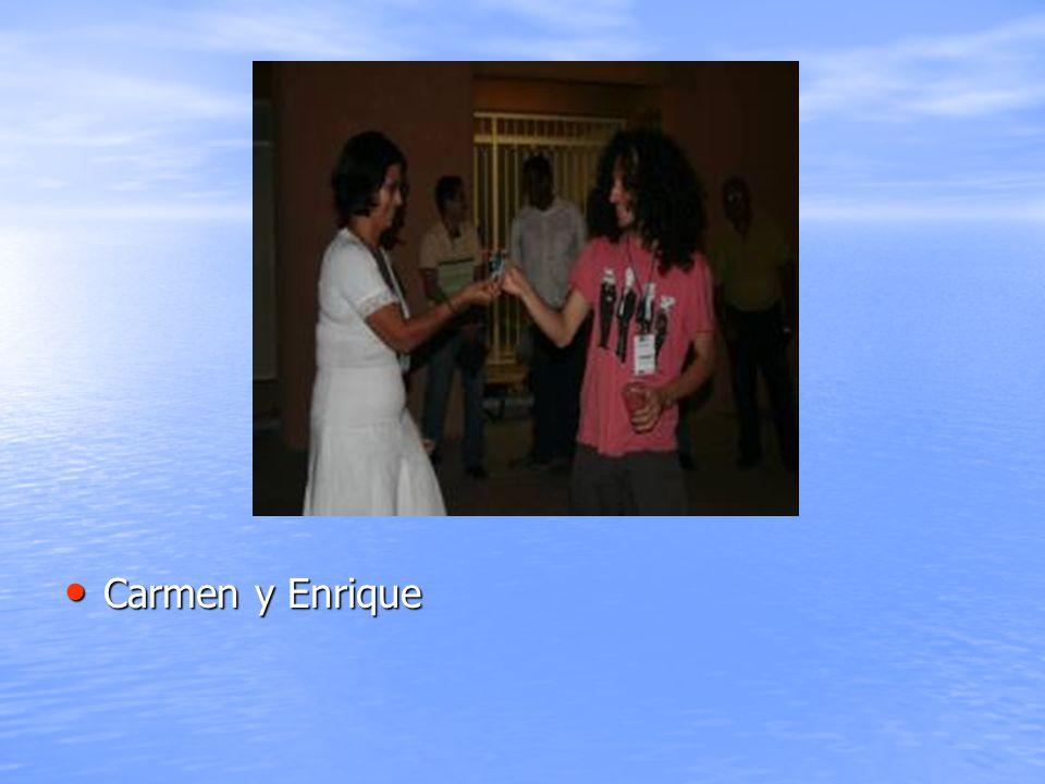 Carmen y Enrique