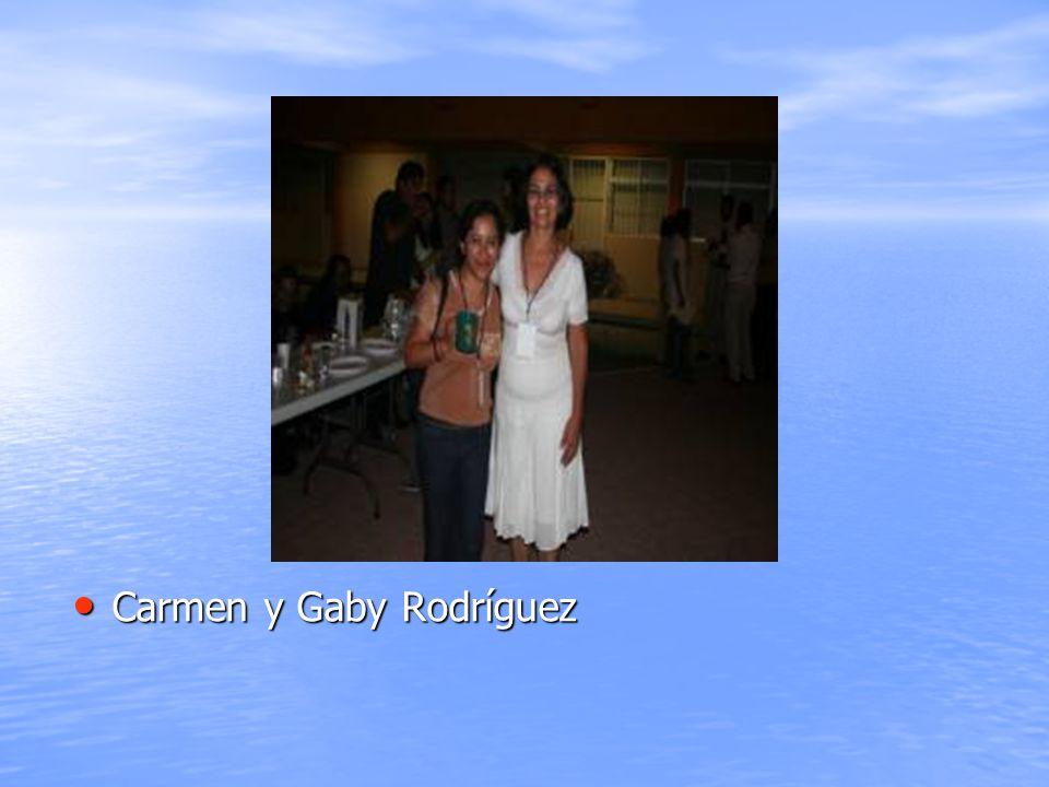 Carmen y Gaby Rodríguez