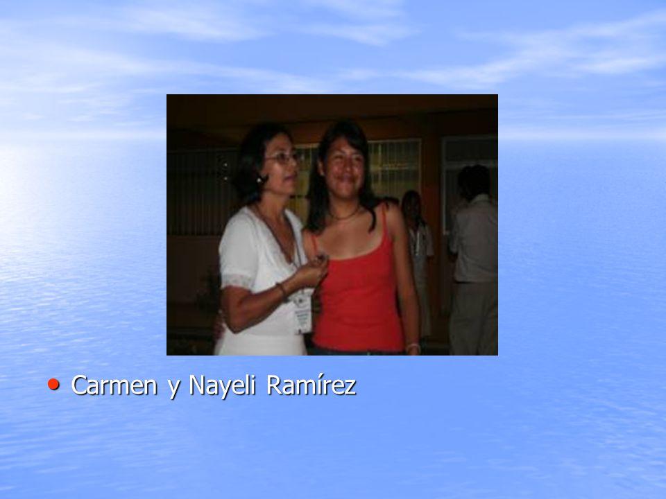 Carmen y Nayeli Ramírez