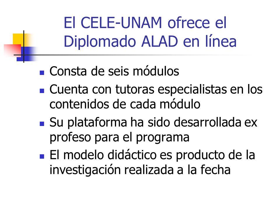 El CELE-UNAM ofrece el Diplomado ALAD en línea