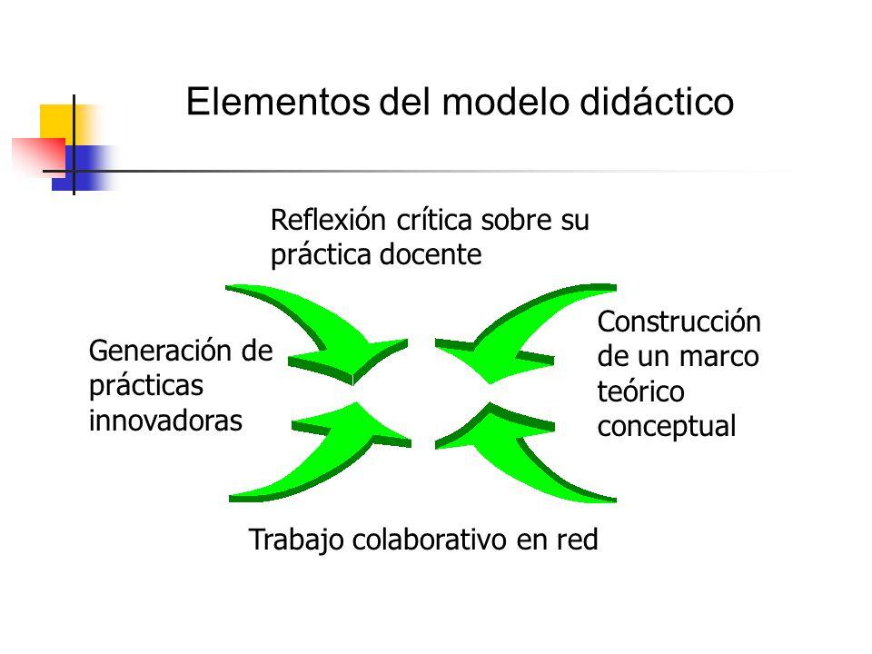 Elementos del modelo didáctico
