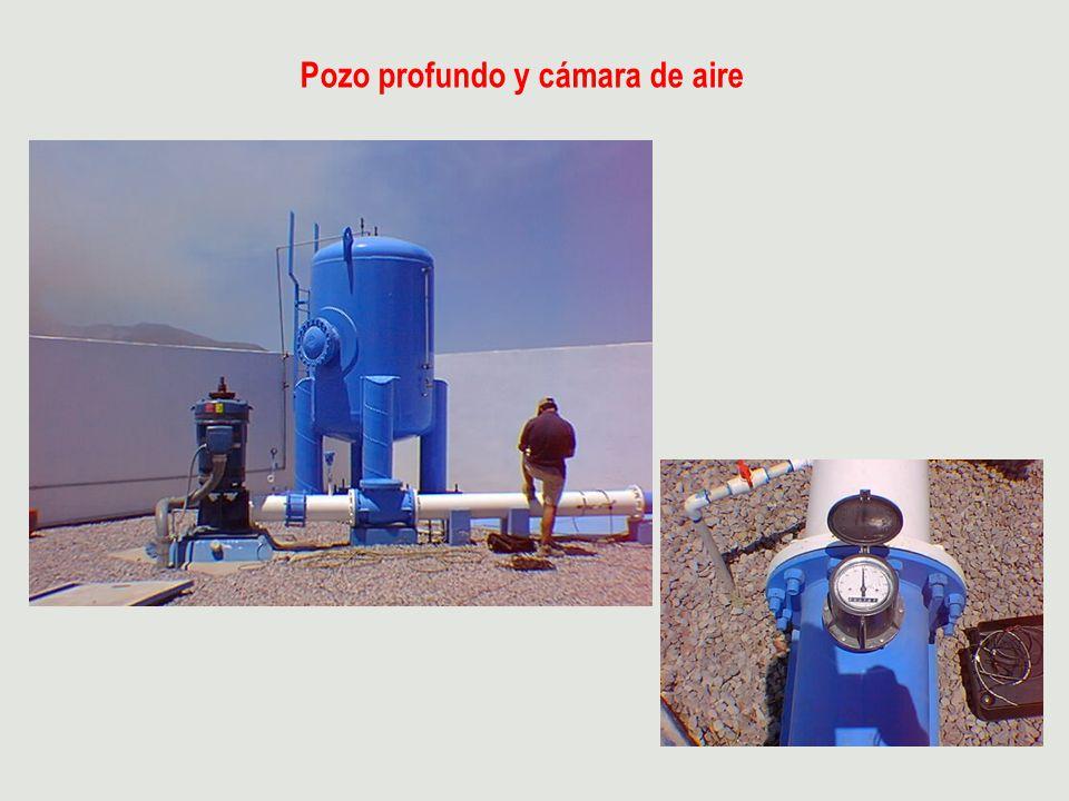 Pozo profundo y cámara de aire