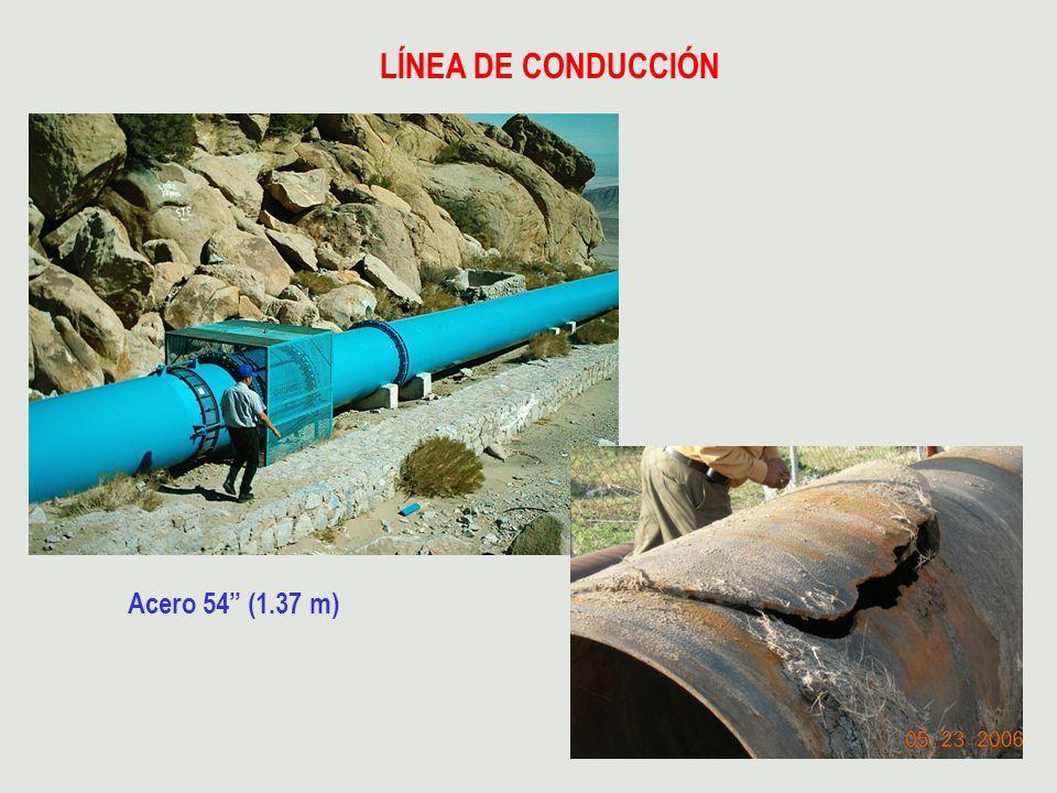 LÍNEA DE CONDUCCIÓN Acero 54 (1.37 m)