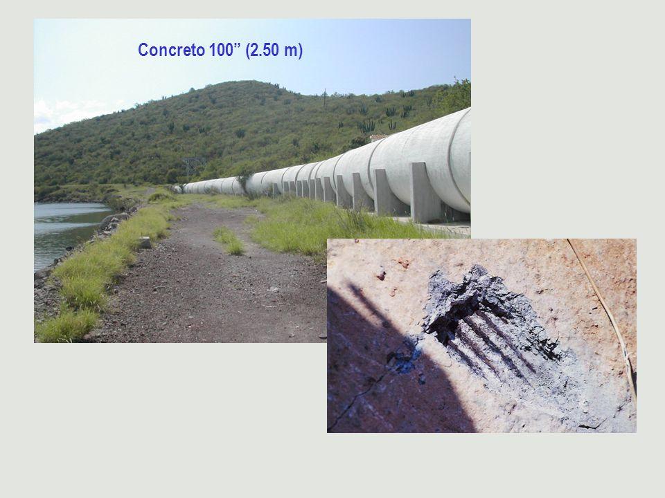 Concreto 100 (2.50 m)