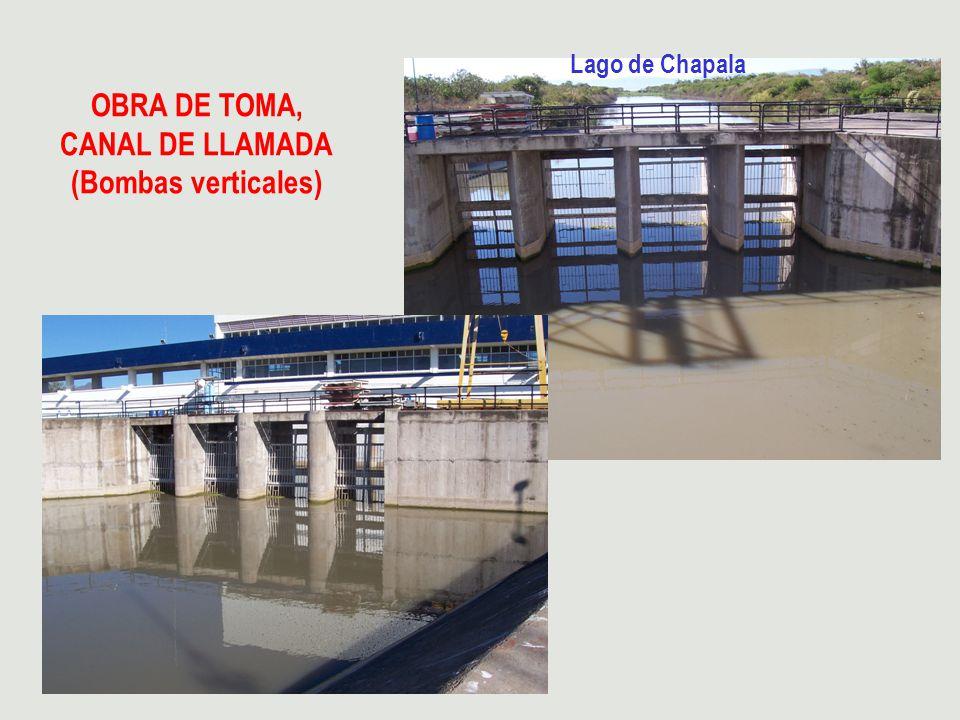 OBRA DE TOMA, CANAL DE LLAMADA