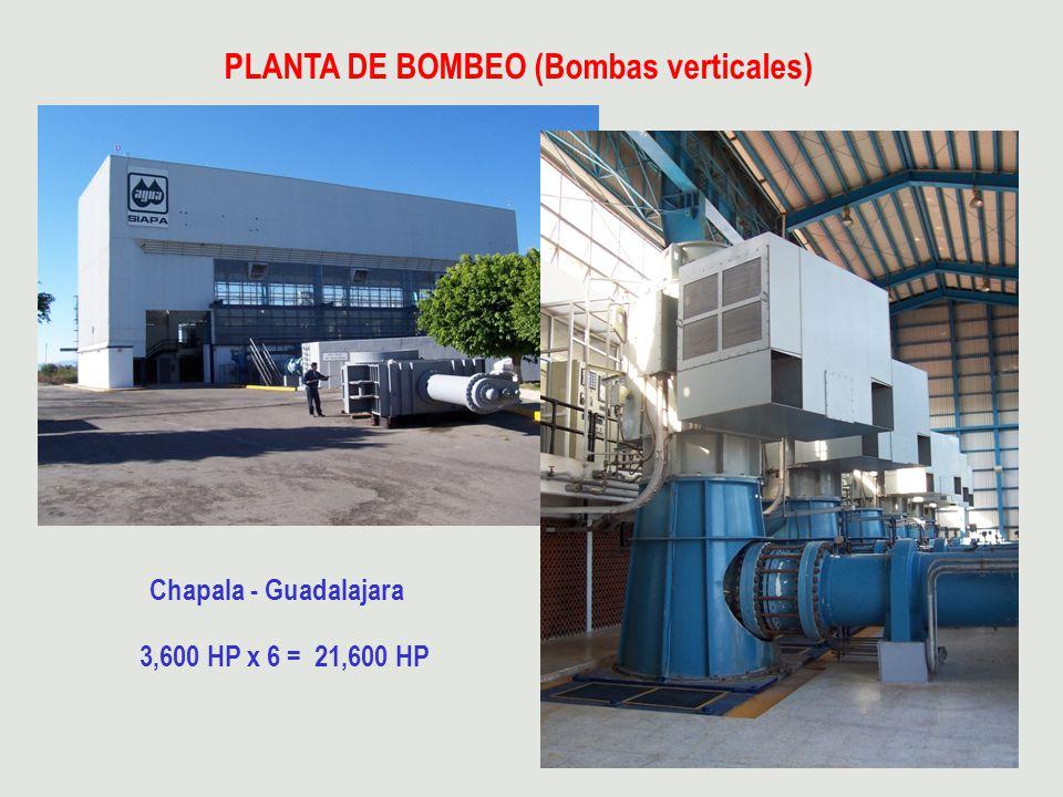 PLANTA DE BOMBEO (Bombas verticales)
