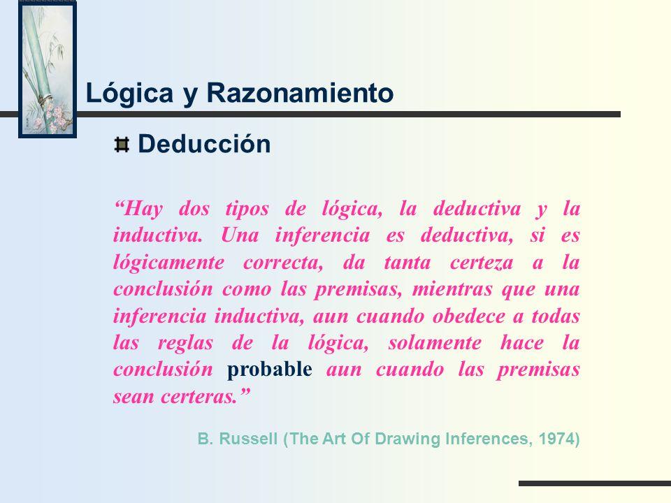 Lógica y Razonamiento Deducción