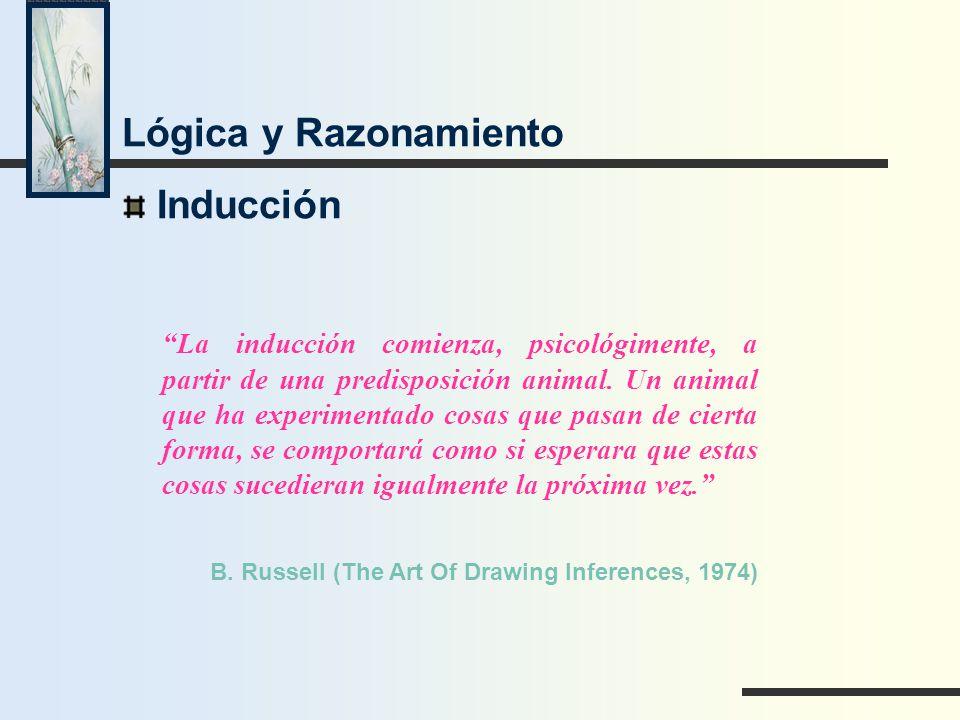 Lógica y Razonamiento Inducción