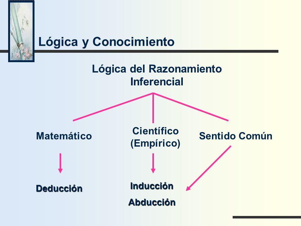 Lógica del Razonamiento Inferencial Científico (Empírico)
