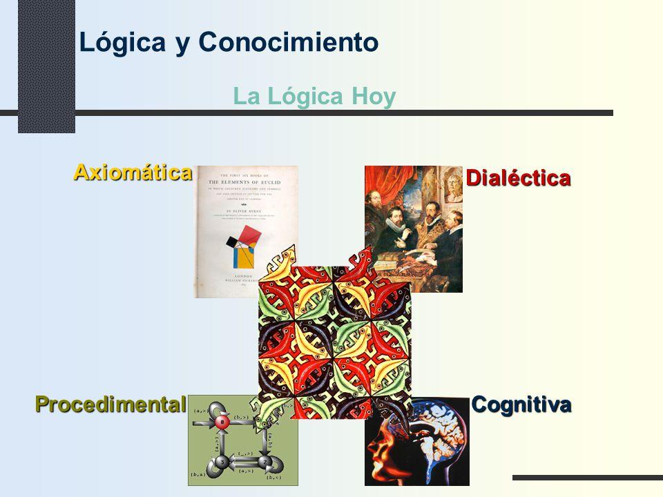 Lógica y Conocimiento La Lógica Hoy Axiomática Dialéctica