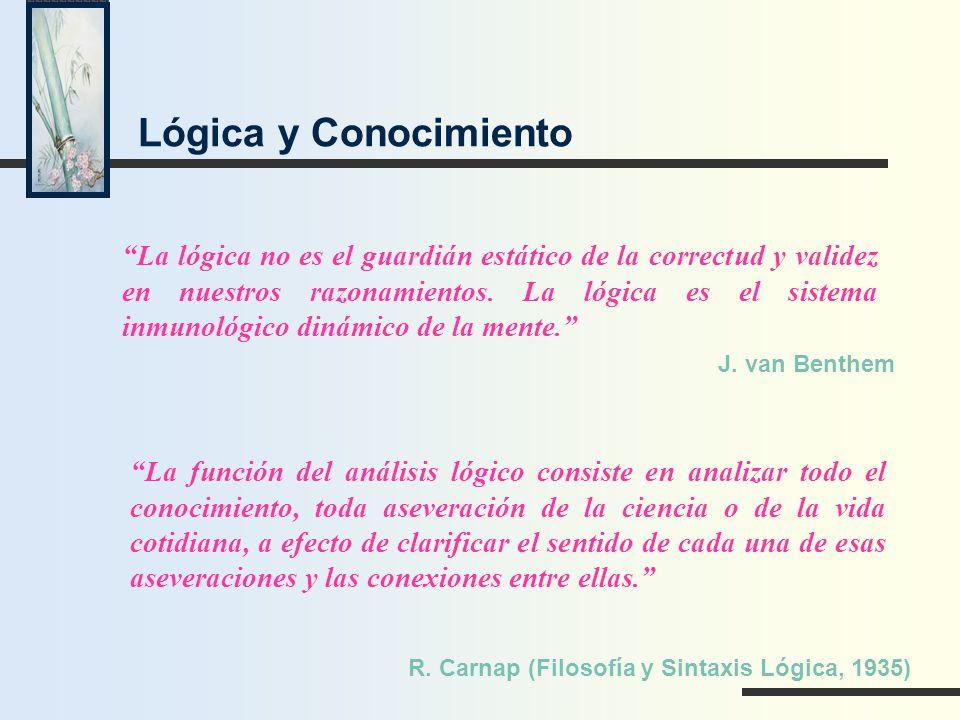 Lógica y Conocimiento