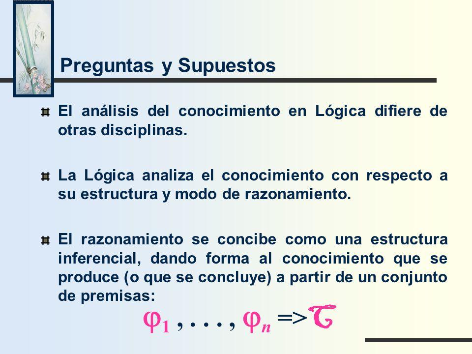 j1 , . . . , jn => Preguntas y Supuestos