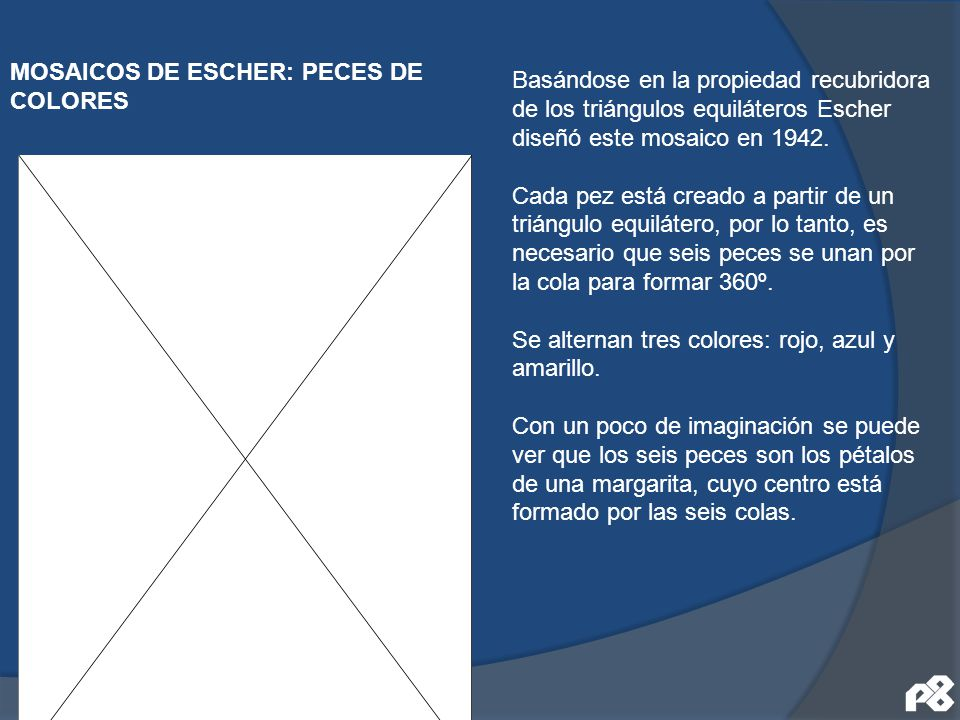 MOSAICOS DE ESCHER: PECES DE COLORES