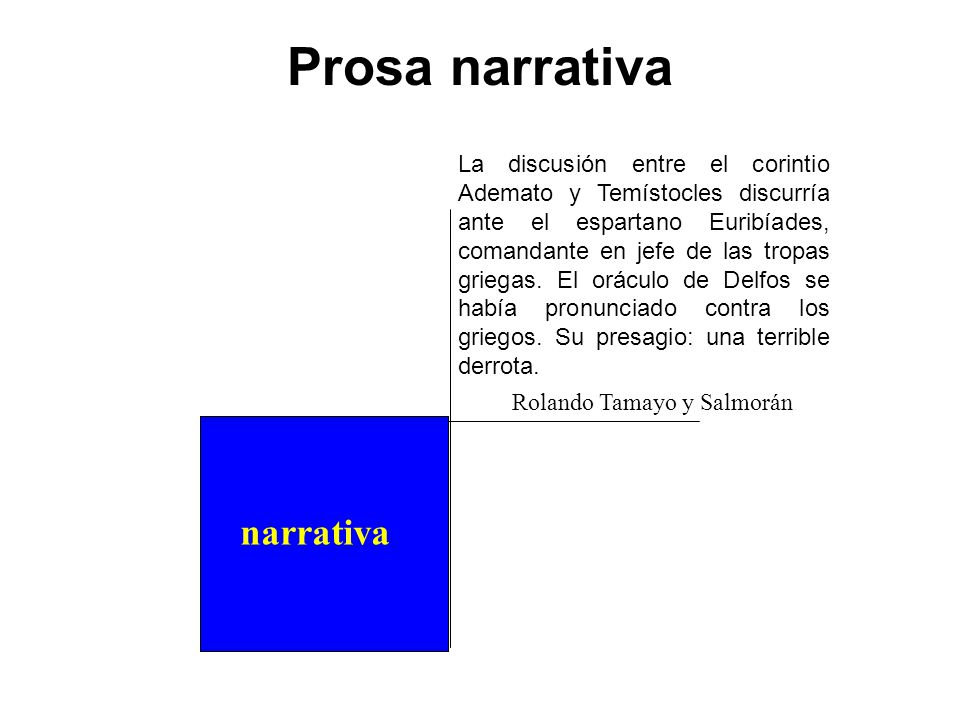 Prosa narrativa narrativa narrativo