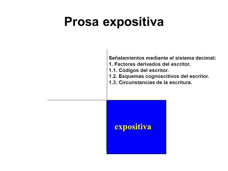 Prosa expositiva expositiva explicativo
