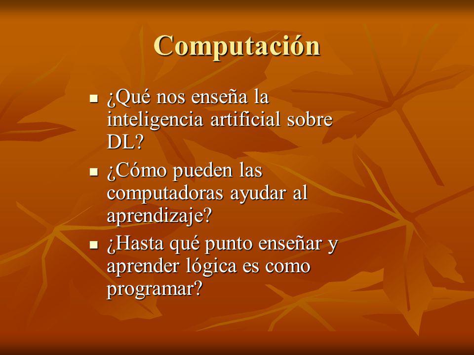 Computación ¿Qué nos enseña la inteligencia artificial sobre DL