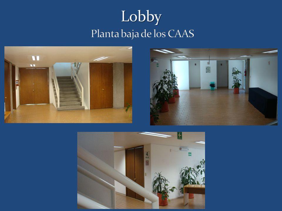 Lobby Planta baja de los CAAS