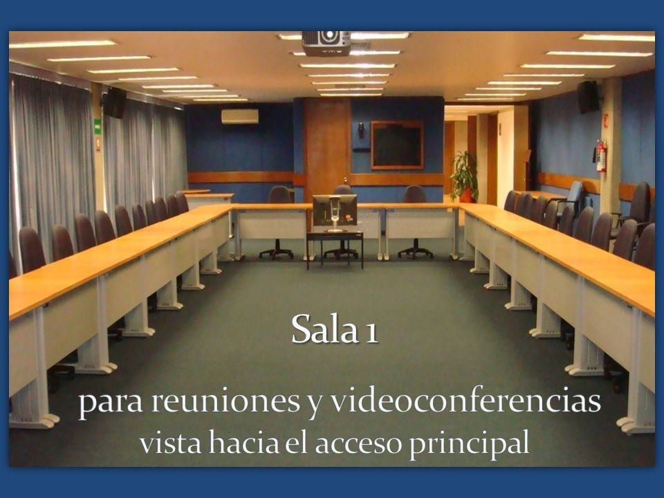 Sala 1 para reuniones y videoconferencias