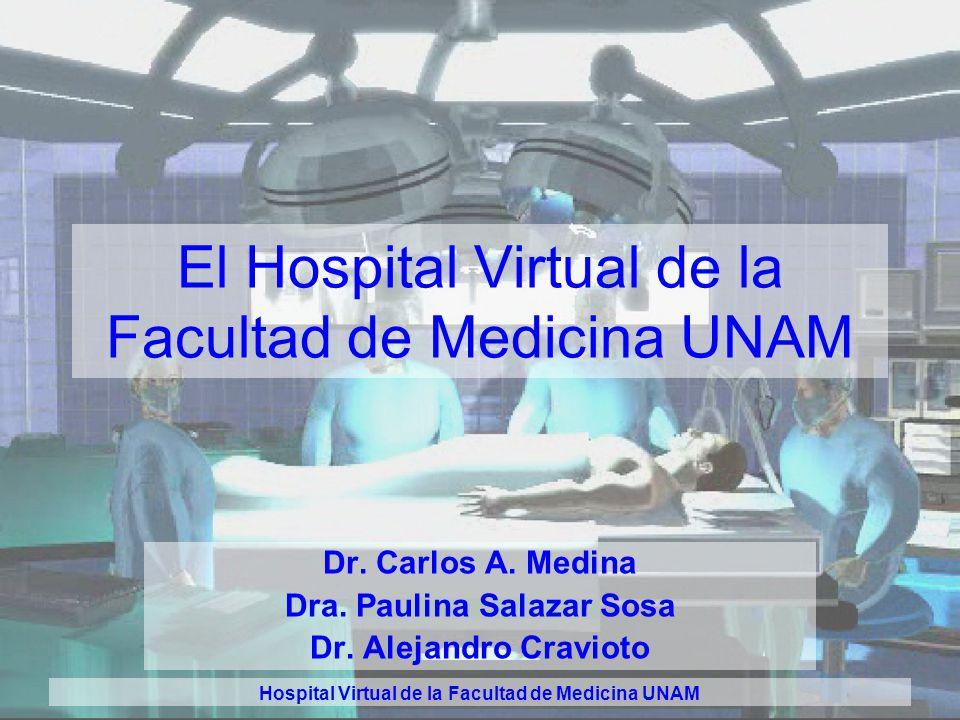 El Hospital Virtual de la Facultad de Medicina UNAM