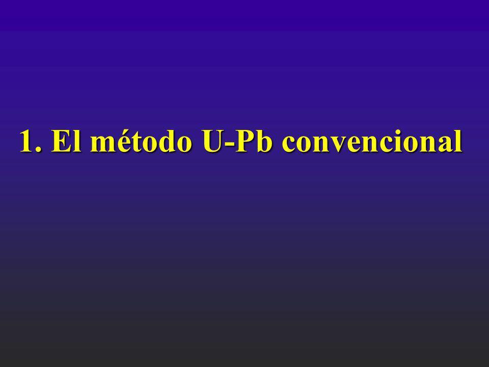 1. El método U-Pb convencional