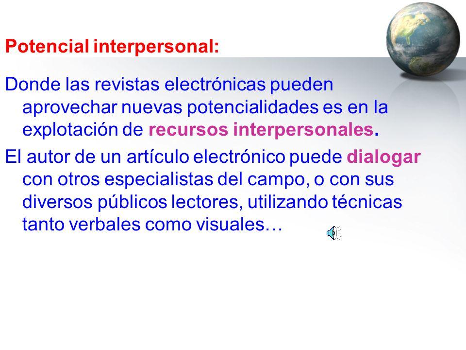Potencial interpersonal: